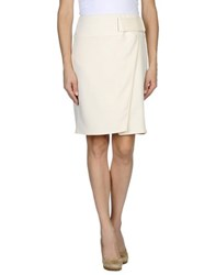 Elisabetta Franchi Skirts Knee Length Skirts Women Ivory