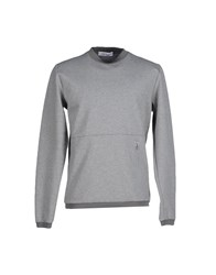 Mauro Grifoni Topwear Sweatshirts Men Grey