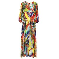 Klements Olympia Magma Print Dress