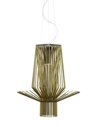 Foscarini Allegretto Assai Suspension Lamp Gold