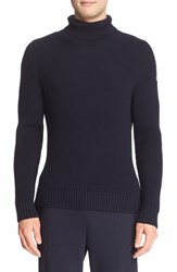 Men's Moncler Ribbed Wool Turtleneck