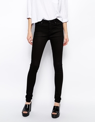 Weekday Saturday Skinny Jeans Black
