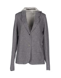 Majestic Suits And Jackets Blazers Women Grey