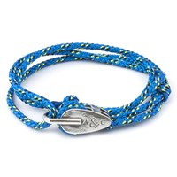 Anchor And Crew All Blue Tyne Rope Bracelet