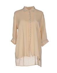 Scee By Twin Set Shirts Shirts Women Beige
