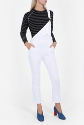 Lna Women S Vintage Raglan Striped Top Boutique1 Blck White