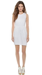 O'2nd David Draped Dress White