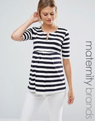 Isabella Oliver Striped Tunic Top Multi