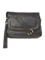 Dickins And Jones Large Kerry Crossbody Bag Black