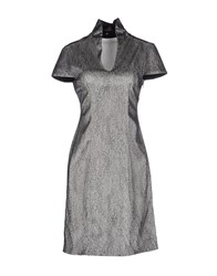 Iris Van Herpen Dresses Short Dresses Women Light Grey