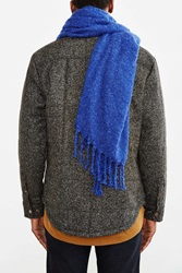 Urban Outfitters Brushed Boucle Woven Scarf Blue