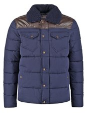 Kaporal Booky Winter Jacket Navy Dark Blue