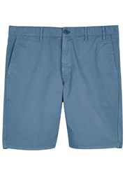 Norse Projects Aros Blue Cotton Shorts
