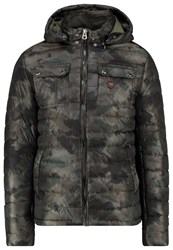 Petrol Industries Winter Jacket Army Green Oliv
