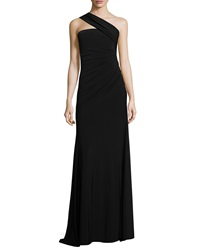 Rachel Zoe One Shoulder Ruched Gown