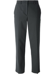 Odeeh Cropped Straight Trousers