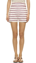 Band Of Outsiders High Waisted Shorts Fire
