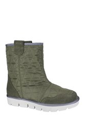 Mia Terrance Faux Fur Lined Boot Green