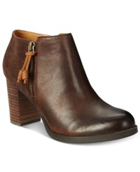 Sperry Women's Dasher Lille Ankle Booties Women's Shoes Brown