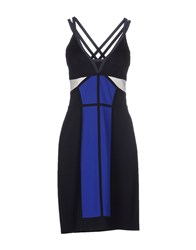 Laurel Dresses Knee Length Dresses Women Dark Blue