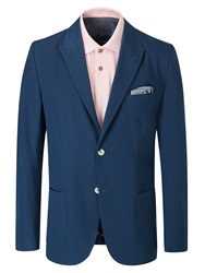 Skopes Claudio Formal Button Blazer Indigo