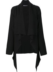 Denis Colomb Short Redingote Jacket Black