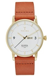 Triwa Ivory Klinga Watch Brown Classic