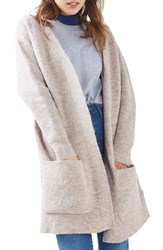 Topshop Women's Oversize Pocket Cardigan
