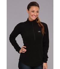 Arc'teryx Delta Lt Zip Black Women's Long Sleeve Pullover