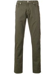 Paul Smith Ps By Lightweight Jeans Green