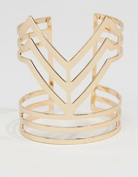 Pieces Dalina Cuff Bracelet Gold