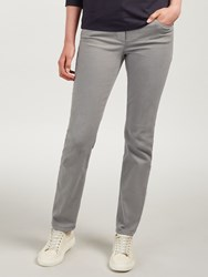 Gerry Weber Roxy Perfect Fit Slim Leg Regular Length Jeans Taupe