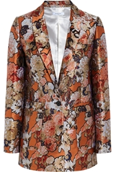 Givenchy Blazer In Metallic Floral Jacquard