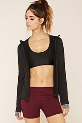 Forever 21 Active Stretch Knit Hoodie