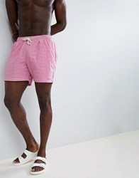 Barbour Milton Swim Short In Pink