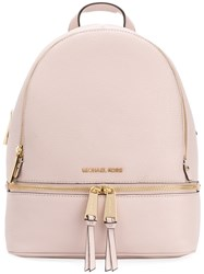 Michael Michael Kors Rhea Backpack Leather Pink Purple