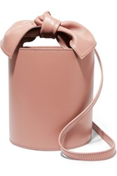 Ulla Johnson Sophie Mini Leather Bucket Bag Blush