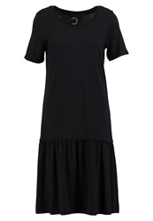 Selected Femme Sfmy Perfect Jersey Dress Black