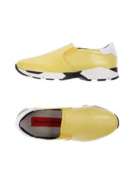 Gianmarco Lorenzi Sneakers Yellow
