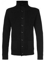 Christophe Lemaire Buttoned Cardigan Black