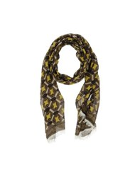 Paolo Pecora Accessories Oblong Scarves Men Military Green