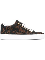 Mason Garments Tia Low Camo Sneakers Black