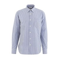 Universal Works Patch Shirt Navy