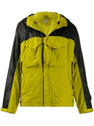 C.P. Company Cp Lens Detail Hooded Jacket Green