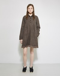 Visvim Nome Harris Tweed Dress Olive