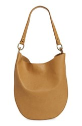 Sole Society Mila Faux Leather Hobo Brown Camel