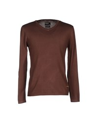 Red Soul Sweaters Cocoa