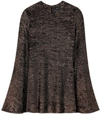 Ellery Inception Flute Sleeve Top Black