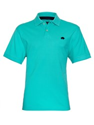 Raging Bull Big And Tall New Signature Polo Shirt Turquoise