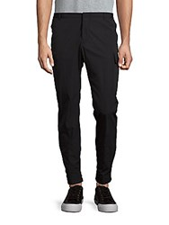 Ralph Lauren Solid Tapered Leg Pants Blue